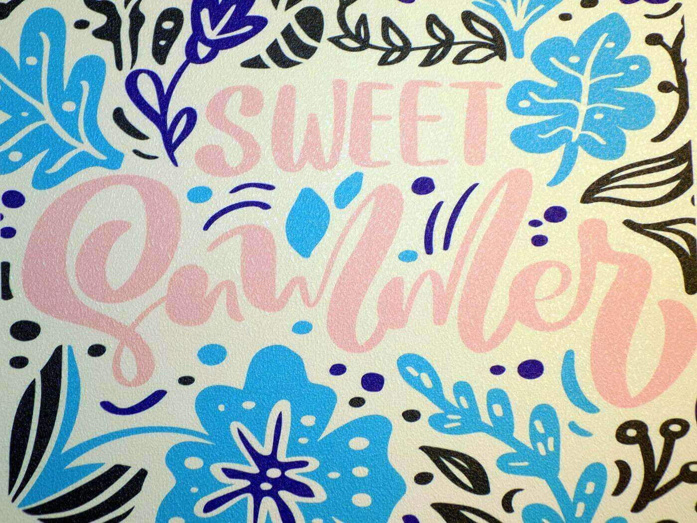 DECAL WALL TEXT ADHESIVE Pumice M